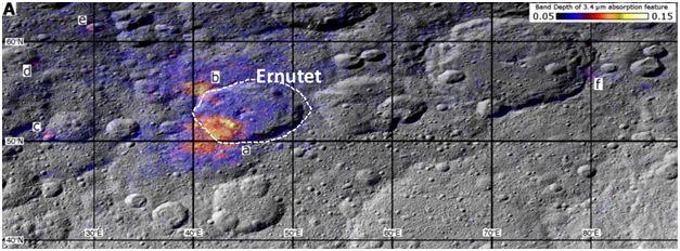 Fotografe: planeta pitică Ceres, cel mai mare asteroid din Sistemul Solar