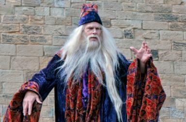 """Dumbledore Entertaining The Crowds At Alnwick Castle"" de Phil_Bird, freedigitalphotos.net"