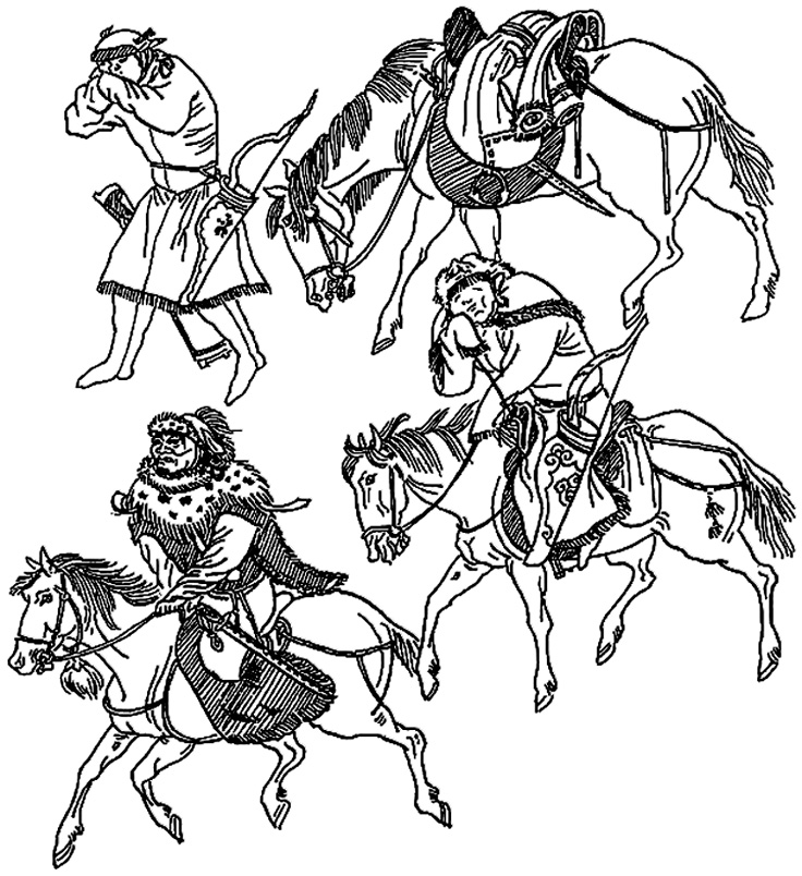 Războinici mongoli
