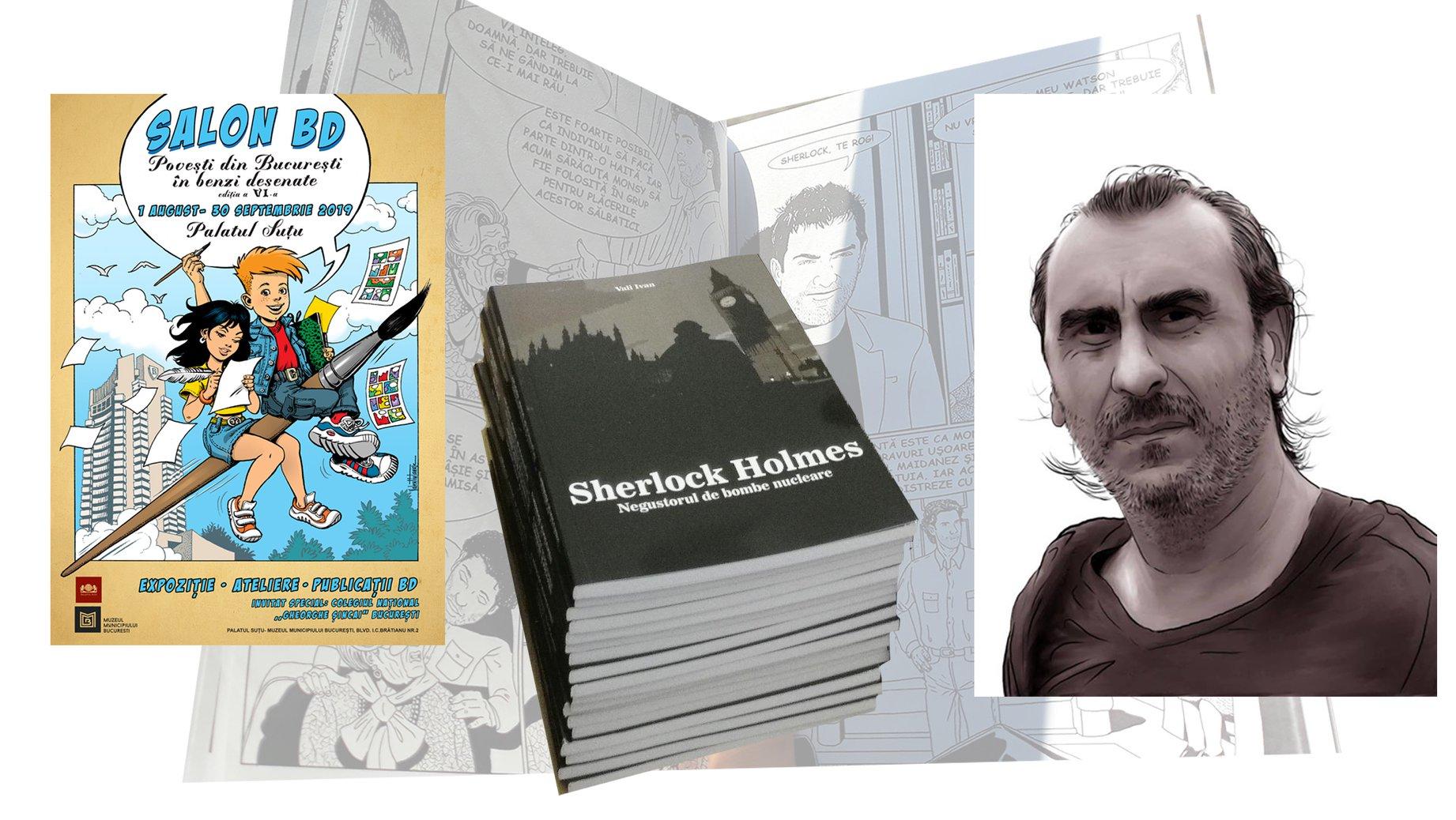 salonul de banda desenata Bucuresti 1 august-30 septembrie